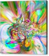 Flexibility 56aaa Acrylic Print