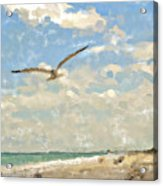 Flight From Canaveral Acrylic Print