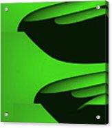 Flight - Green Version Acrylic Print