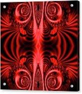 Flight Of Fancy Red Acrylic Print