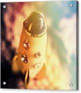 Flight Of Space Fiction Acrylic Print