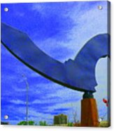 Flight Of The Bat Acrylic Print
