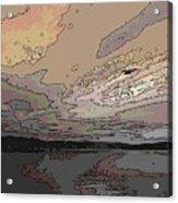 Flight Of The Gull Acrylic Print