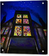 Flimflams Lanterns Diagon Alley London Acrylic Print