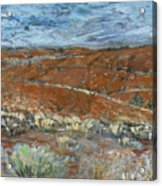 Flinders Ranges Acrylic Print