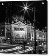 Flinders Street Station Acrylic Print