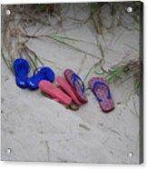 Flip Flops Acrylic Print