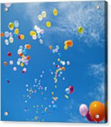 Float Away Acrylic Print