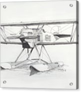 Float Plane Ib10 Acrylic Print