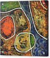 Floater 881 Acrylic Print