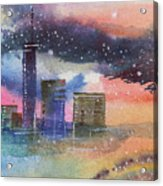 Floating City Acrylic Print