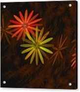 Floating Floral-008 Acrylic Print