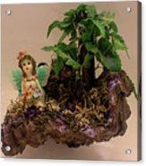 Floating Island Fairy Acrylic Print