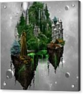 Floating Kingdom Acrylic Print