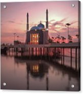 Floating Mosque Acrylic Print