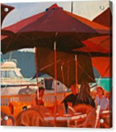 Floating Restaurant Acrylic Print
