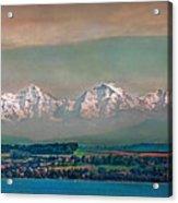 Floating Swiss Alps Acrylic Print