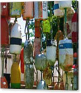 Floats And Buoys II Acrylic Print