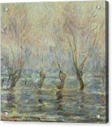 Flood In Giverny Acrylic Print