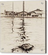 Flood St. Acrylic Print
