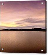 Flooded Sunset Acrylic Print
