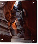 Floor Of Antelope Canyon Acrylic Print