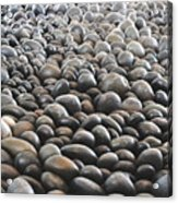 Floor Of Rocks Acrylic Print