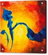 Flor Cubana Acrylic Print