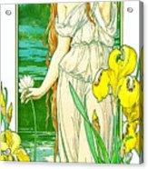 Flora 1905 Acrylic Print