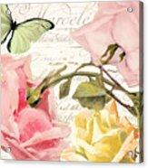 Florabella I Acrylic Print