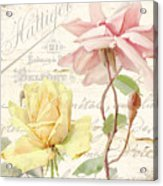 Florabella Iv Acrylic Print