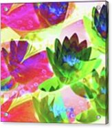 Floral Abstract #3 Acrylic Print