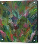 Floral Abstraction Acrylic Print