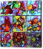 Floral Air Acrylic Print