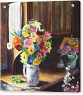 Floral Arrangements Acrylic Print