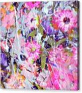 Floral Art Clviii Acrylic Print