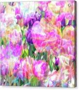 Floral Art Cx Acrylic Print