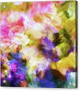 Floral Art Cxii Acrylic Print