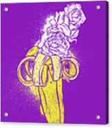 Floral Banana Acrylic Print
