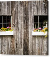 Floral Barn Planters Acrylic Print