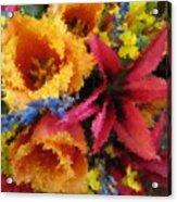 Floral Blast Acrylic Print