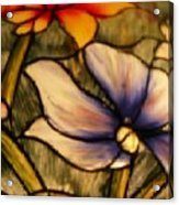 Floral Duplication Acrylic Print