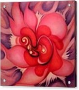 Floral Energies Acrylic Print