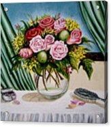 Floral Essence Acrylic Print