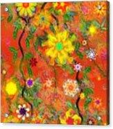 Floral Fantasy 122110 Acrylic Print