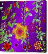 Floral Fantasy 122410 Acrylic Print