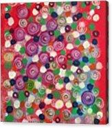 Floral Field  Acrylic Print