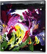 Floral Flow Acrylic Print