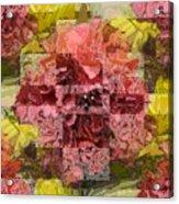 Floral Flux Acrylic Print