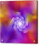 Floral Fractal 052210 Acrylic Print